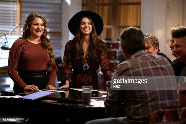 THE VOICE Battle Reality Pictured Anna Catherine DeHart Kristi Hoopes
