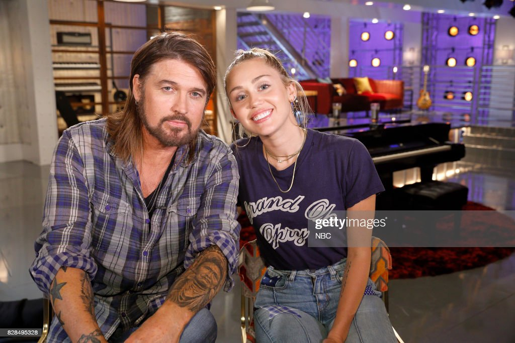THE VOICE -- 'Battle Reality' -- Pictured: (l-r) Billy Ray Cyrus, Miley Cyrus --