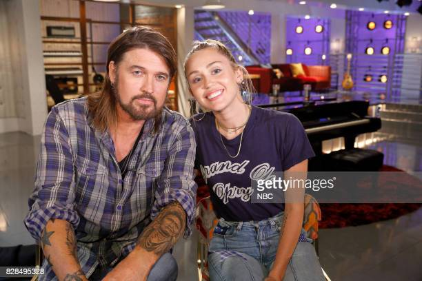 THE VOICE 'Battle Reality' Pictured Billy Ray Cyrus Miley Cyrus