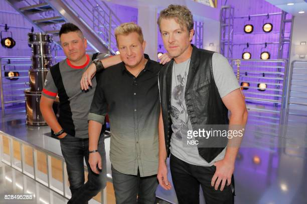 THE VOICE 'Battle Reality' Pictured Jay DeMarcus Gary LeVox Joe Don Rooney 'Rascal Flatts'