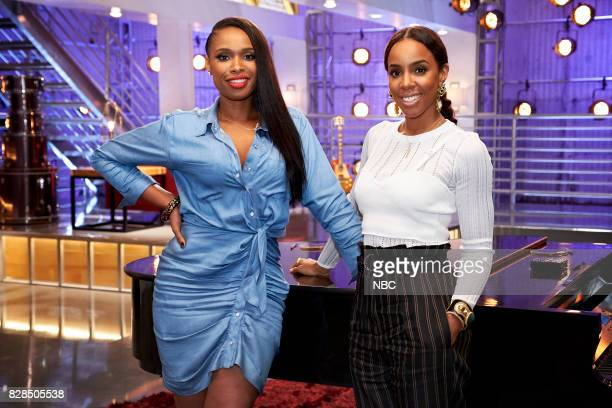 THE VOICE 'Battle Reality' Pictured Jennifer Hudson Kelly Rowland