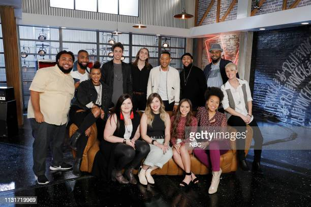 "Battle Reality"" -- Pictured: Matthew Johnson, Denton Arnell, Lisa Ramey, Talon Cardon, Savannah Brister, Jacob Maxwell, Maelyn Jarmon, John Legend,..."