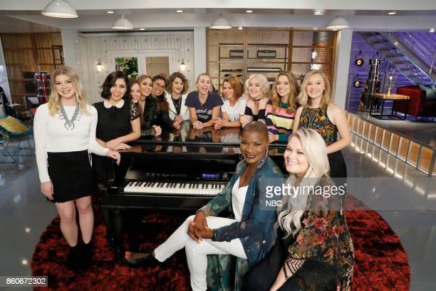 THE VOICE 'Battle Reality' Pictured Megan Rose Ilianna Viramontes Moriah Formica Sophia Bollman Brooke Simpson Shilo Gold Miley Cyrus Katrina Rose...