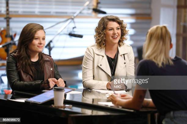 THE VOICE 'Battle Reality' Pictured Moriah Formica Shilo Gold