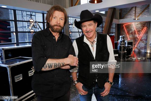 THE VOICE Battle Reality Pictured Ronnie Dunn and Kix Brooks of Brooks Dunn