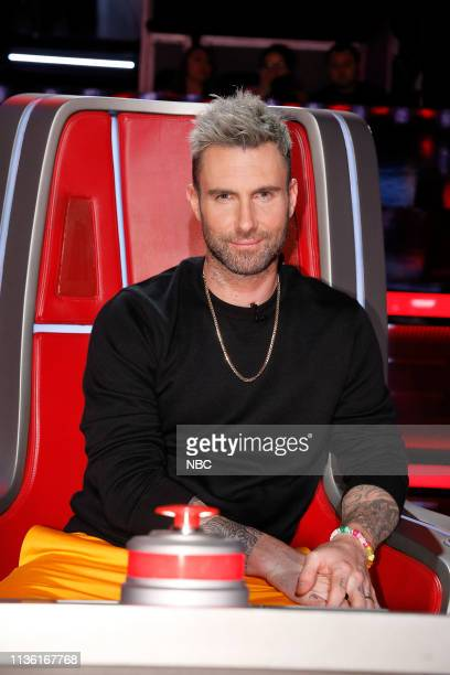 THE VOICE Battle Rounds Episode 1608 Pictured Adam Levine