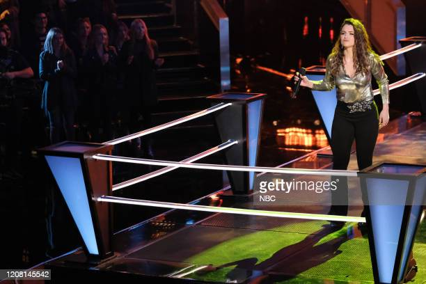 THE VOICE Battle Rounds Episode 1806 Pictured Joei Fulco