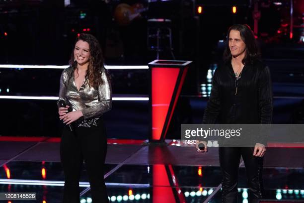 THE VOICE Battle Rounds Episode 1806 Pictured Joei Fulco Todd Michael Hall