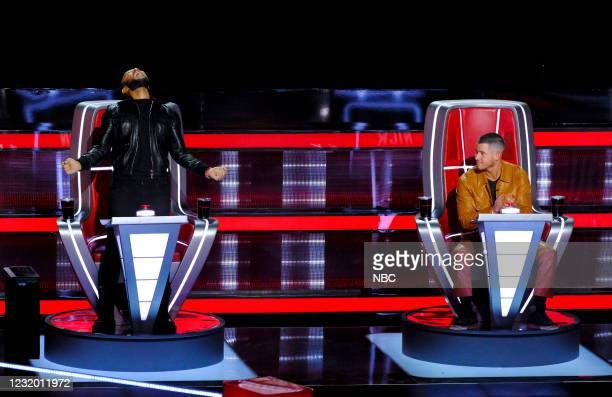 "Battle Rounds"" Episode 2007 -- Pictured: John Legend, Nick Jonas --"