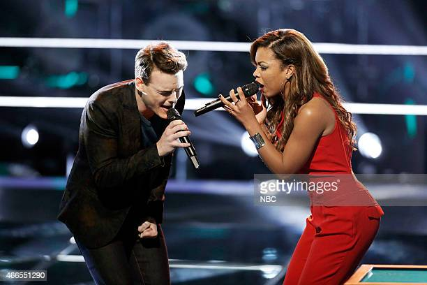 THE VOICE 'Battle Rounds' Episode 807 Pictured Clinton Washington India Carney