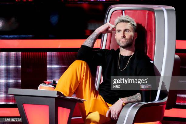 THE VOICE Battle Rounds Pictured Adam Levine