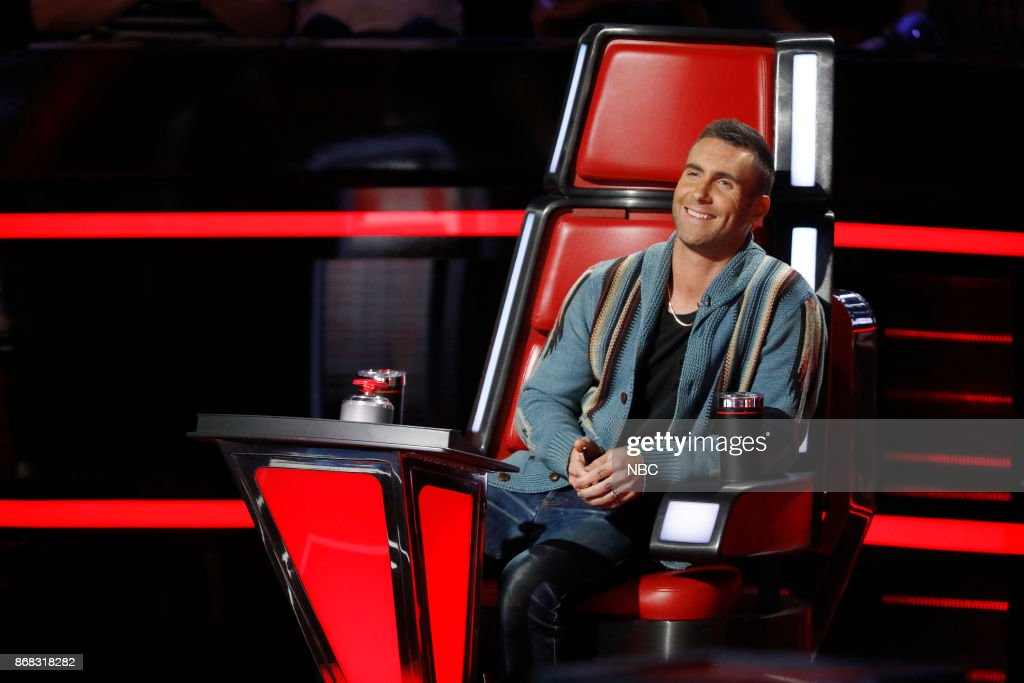 THE VOICE -- 'Battle Rounds' -- Pictured: Adam Levine --