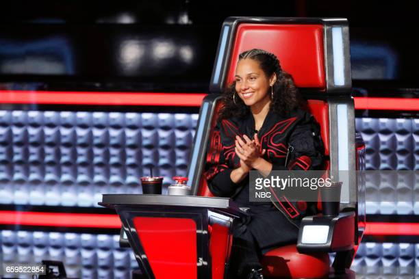 THE VOICE 'Battle Rounds' Pictured Alicia Keys