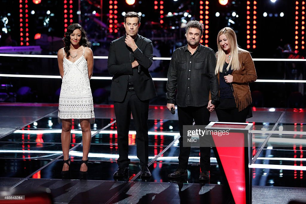 The Voice Battle Rounds Pictured Amy Vachal Carson Daly