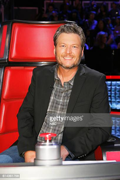 THE VOICE Battle Rounds Pictured Blake Shelton
