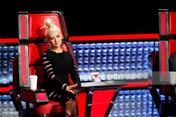 THE VOICE Battle Rounds Pictured Christina Aguilera
