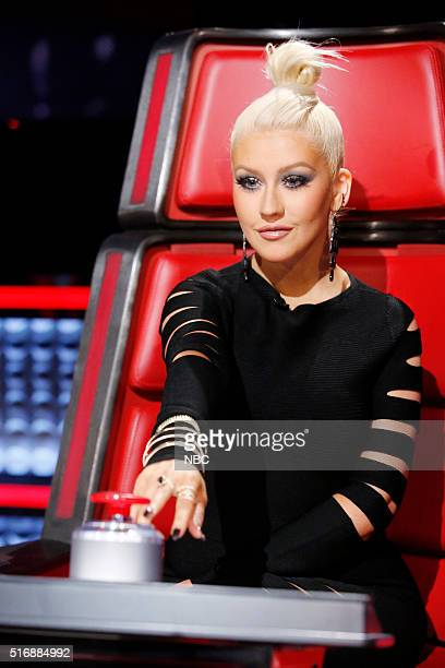 THE VOICE 'Battle Rounds' Pictured Christina Aguilera