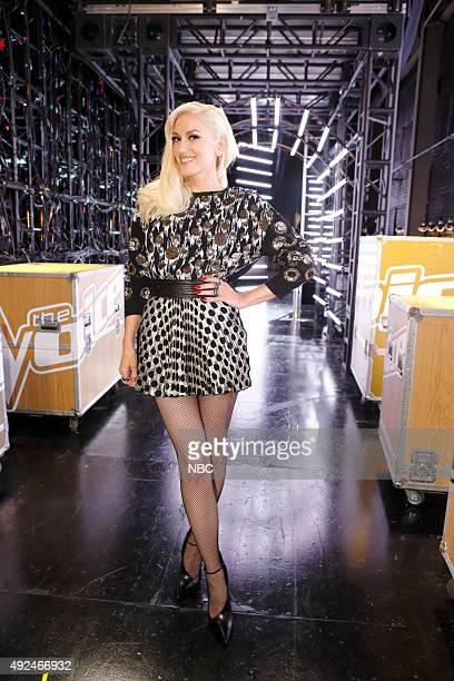 THE VOICE Battle Rounds Pictured Gwen Stefani