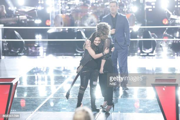 THE VOICE 'Battle Rounds' Pictured Moriah Formica Shilo Gold Carson Daly