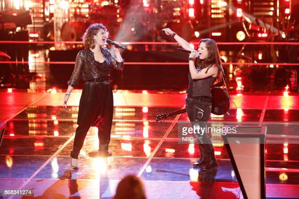 THE VOICE 'Battle Rounds' Pictured Shilo Gold Moriah Formica