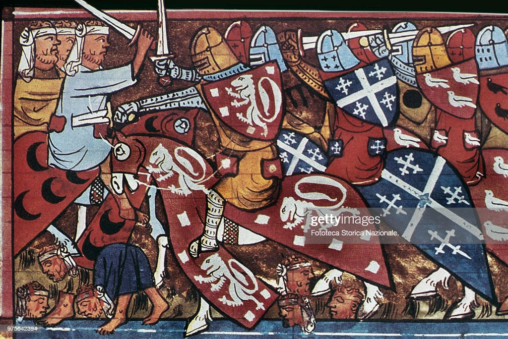 The First Crusade : News Photo