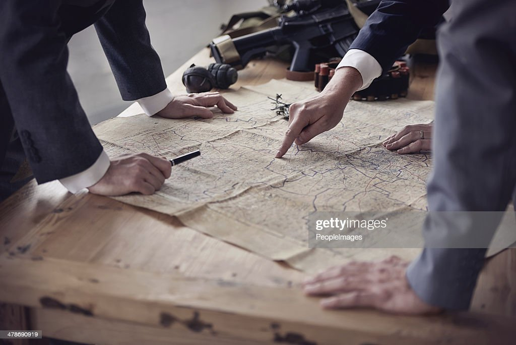 Battle tactics : Stock Photo