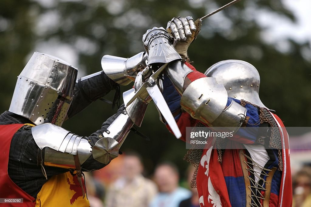 Battle to the Death ! : Stock Photo