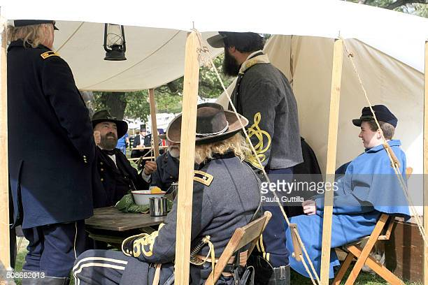 Battle Wilson's Creek Aug 10 1861 Near Springfield MO Civil War Reenactment Dollinger Family Farm Channahon IL
