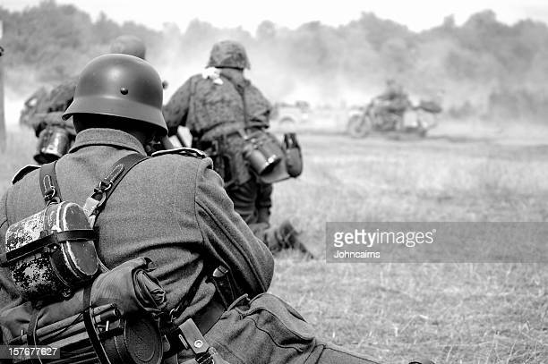 ww2 battlefield. - world war ii stock pictures, royalty-free photos & images