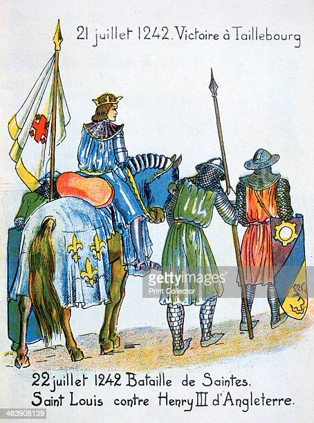 Battles of Taillebourg and Saintes France 21 and 22 July 1242 Louis IX of France defeated Henry III at Taillebourg and was again victorious over the...