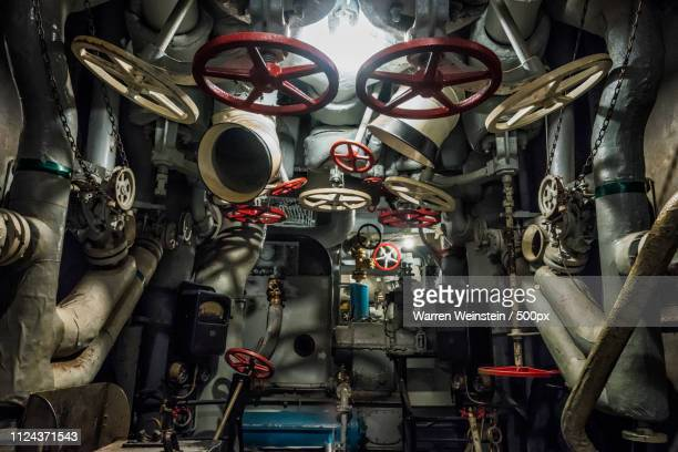 battleship engine room - battleship stock pictures, royalty-free photos & images