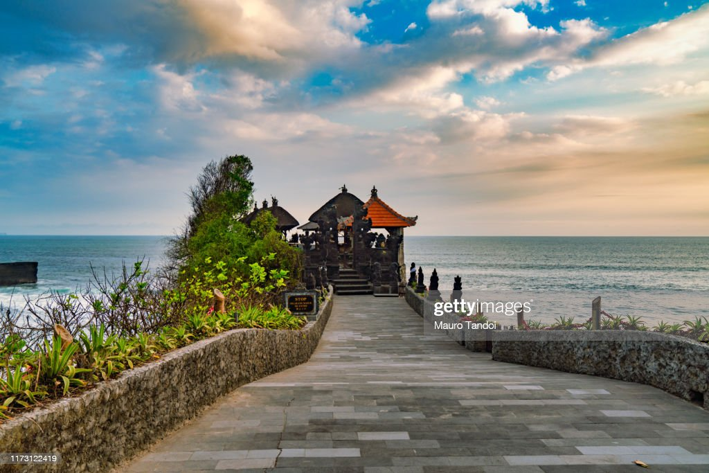 Batu Bolong Temple : Stock Photo