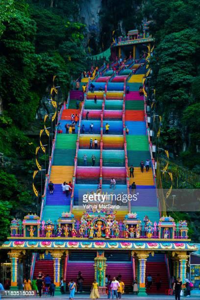 batu caves temple - religiös symbol bildbanksfoton och bilder