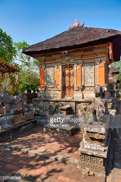 batuan temple, ubud, bali island - mauro tandoi stock photos and pictures