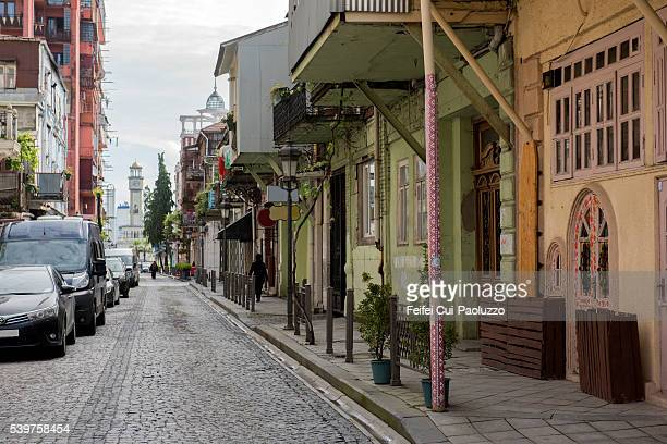 Batumi street of old town