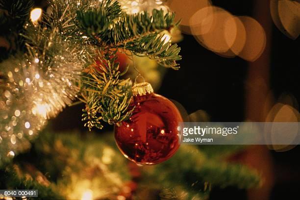 Bauble on Christmas Tree