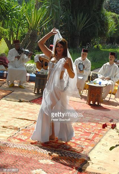 Bauchtänzerin Villa Bled Targui Marrakesch Marokko Nordafrika Afrika sexy Bauchtanz tanzen orientalisch Reise