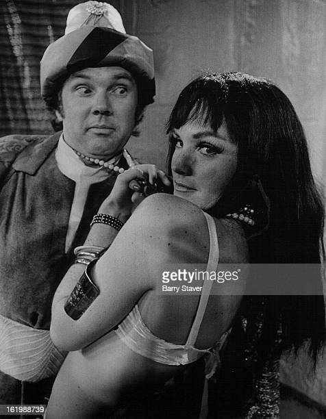 PRISONER Bauer as Captain Sanjar and Tudi Sweeney as Princess Barbara costar in The Lady or the Tiger part of