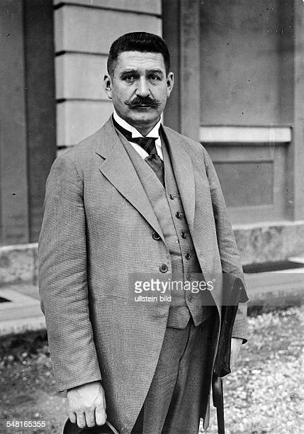 Bauer Gustav Politician D *06011870 Chancellor of Germany from 1919 to 1920 Portrait ca 1920 Photographer Walter Gircke Vintage property of ullstein...