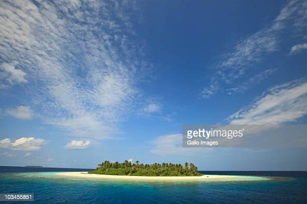 Baughagello Island, Southern Huvadhu Atoll, Southern Maldives, Indian Ocean