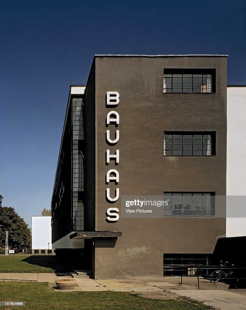 Bauhaus Dessau Dessau Germany Architect Walter Gropius Bauhaus Dessau East  End Of Building With With Bauhaus In Nederland