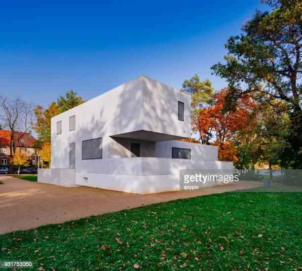 "bauhaus dessau - master houses ""walter gropius master house"" - bauhaus art movement stock pictures, royalty-free photos & images"