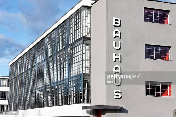 bauhaus dessau - bauhaus art movement stock pictures, royalty-free photos & images