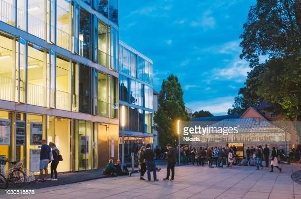 bauhaus-universität weimar - campus stock-fotos und bilder