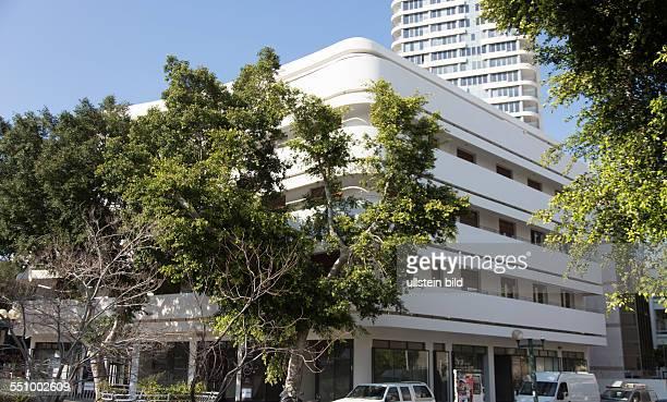 BauhausGebäude am DizengoffCenter in Tel Aviv Welterbe 'Weiße Stadt'