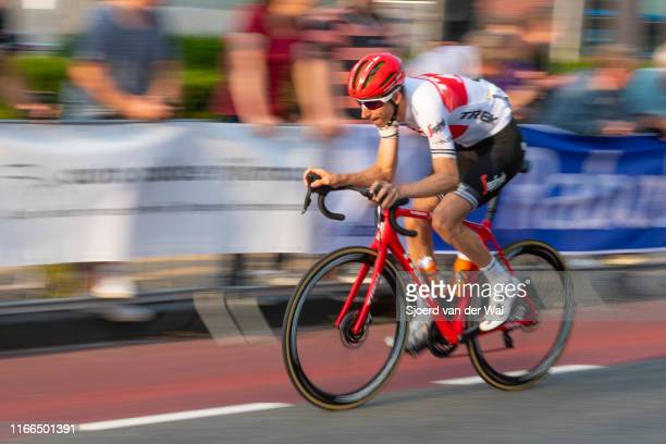 Bauke Mollema of The Netherlands and Team TrekSegafredo during the 2019 Spektakel van Steenwijk on August 6 2019 in SteenwijkNetherlands