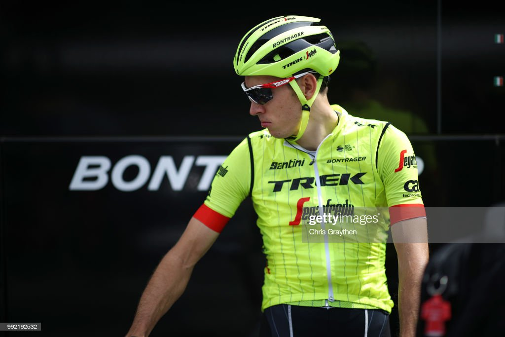 Bauke Mollema of The Netherlands and Team Trek-Segafredo / during the 105th Tour de France 2018, Training / Team Time Trial / TTT / TDF / on July 5, 2018 in Cholet, France.