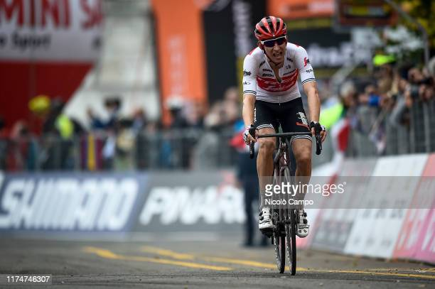 Bauke Mollema of Trek-Segafredo rides during the 100th Milano-Torino a semi classic single day cycling race from Milan to Turin. It is the oldest of...