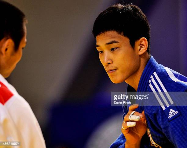 Baul An who won the u66kg individual gold medal lost his team final match to Masashi Ebinuma by a shido penalty during the 2015 Astana World Judo...