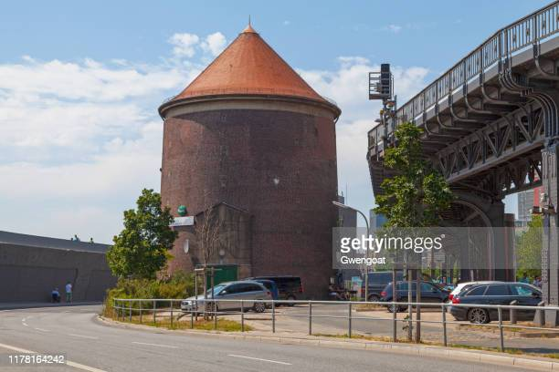 baumwall shelter in hamburg - air raid shelter stock pictures, royalty-free photos & images